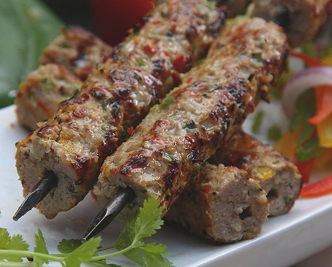 12 Delhi Street Foods which are Popular - kebab