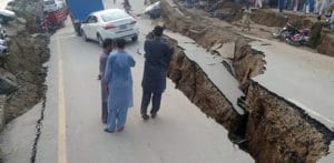 5.8m Earthquake hits Pakistan killing 26 & Injuring over 300 f