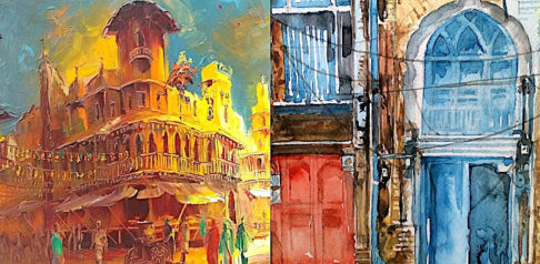 7 Best Paintings of Old Lahore To Admire