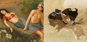 7 Famous Paintings about Love from India - F
