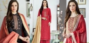 Beautiful Cotton Silk Salwar Kameez to Wear f