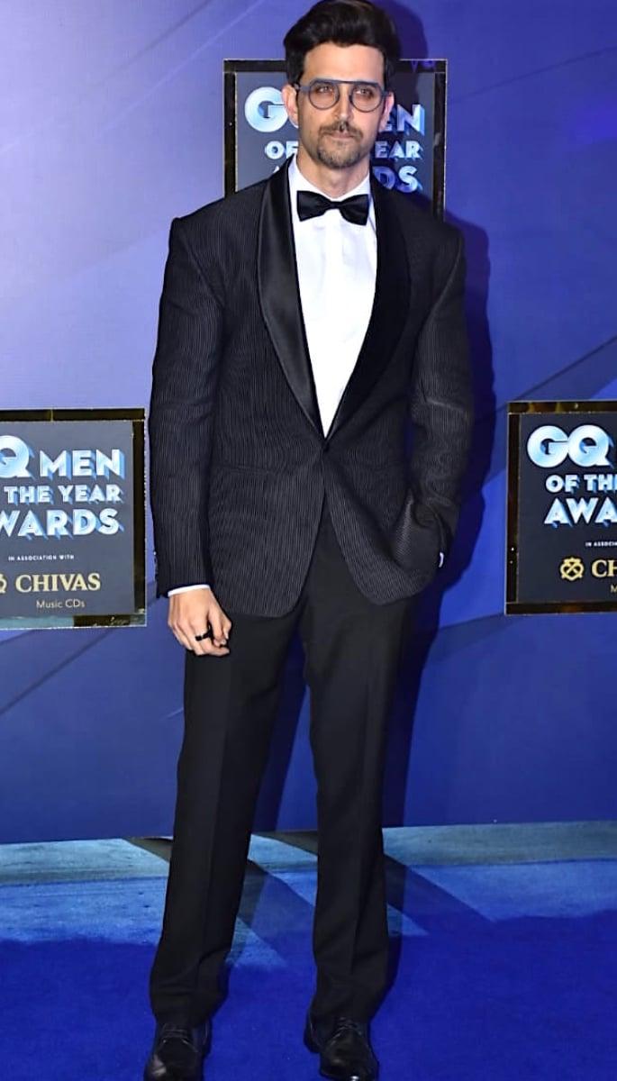 Best Dressed Stars at GQ Men of The Year Award - Hrithik