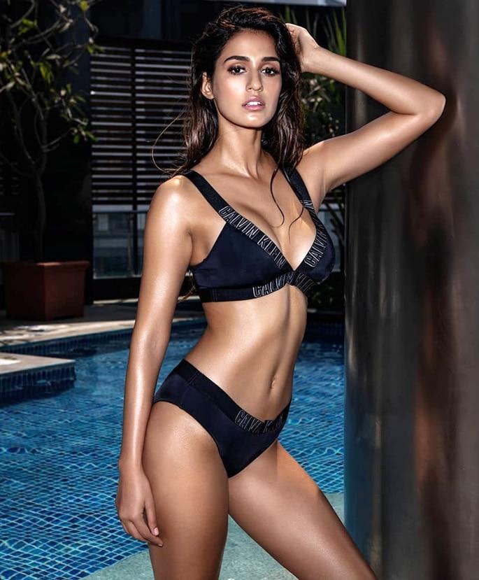 Bollywood actress DIsha Patani say She is not Hot - black