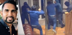 Brave Man beats Balaclava Robbers entering his Home