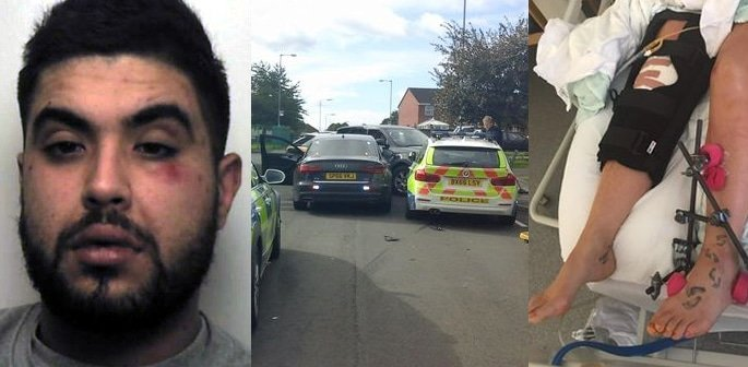 Drug Dealer Drove BMW into Policewoman to Getaway f
