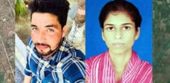Indian Love Marriage Couple shot by Girl's Family Members