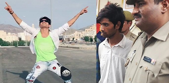 Indian TikTok Star with 40k Followers arrested for Robberies f