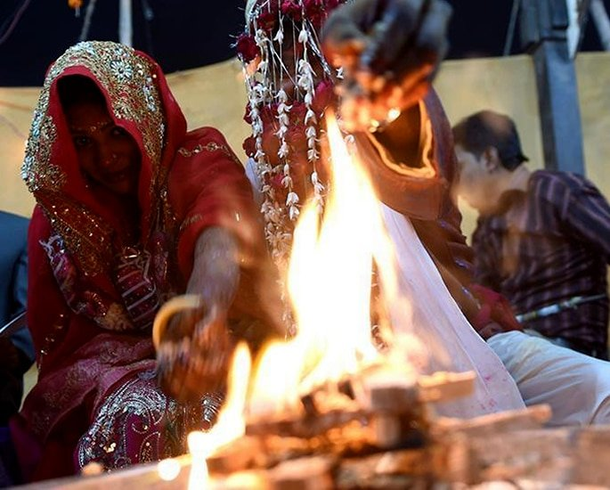 India's Women being forced to Marry Multiple Husbands - ceremony