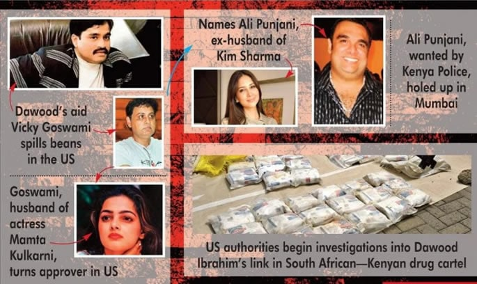 Large Drug Cartel busted in US with Bollywood Links - operation
