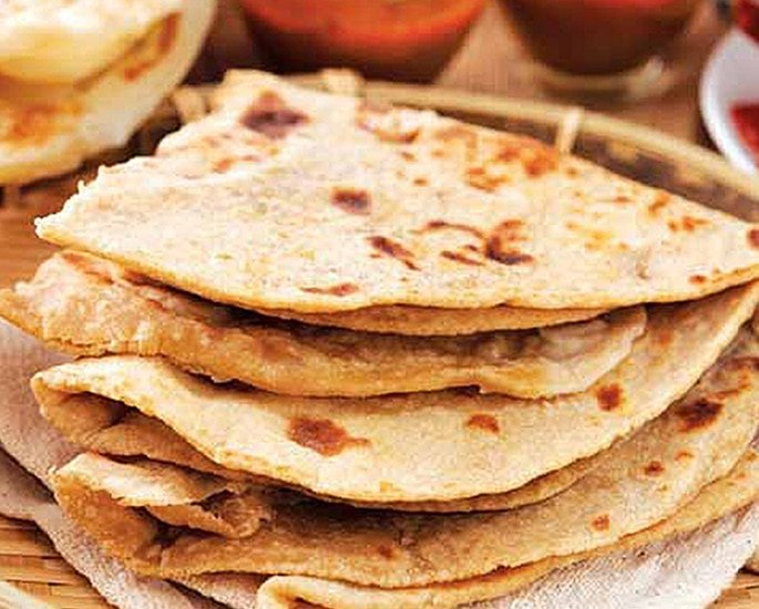 Low-Calorie Indian Food for Weight Loss - tandoori roti