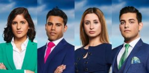 Meet Iasha, Shahin, Lubna & Dean from The Apprentice f