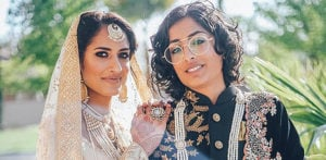 Pakistani and Indian Same Sex Couple get Married f