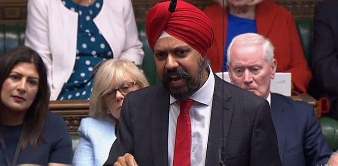 Tan Dhesi urges PM Johnson to Apologise for 'Racist' Remarks f