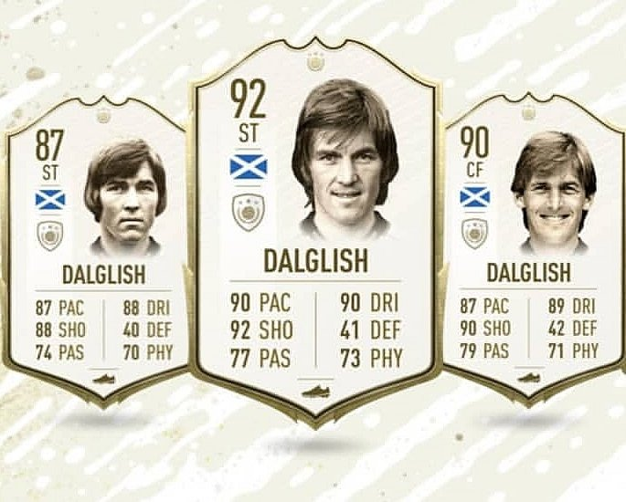 The new FIFA 20 Ultimate Team Icons to Play with - dalglish]