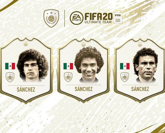 The new FIFA 20 Ultimate Team Icons to Play with - sanchez