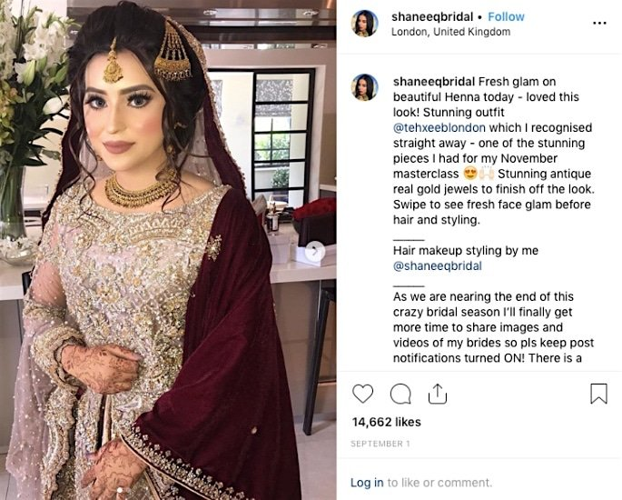 Tips and Tricks for the Best Bridal Makeup Look - Instagram