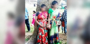 Two Indian Women tied to Tree & Beaten for Stealing Vegetables f