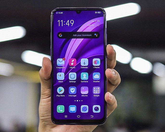 Vivo Z1x What are the Smartphone's Features - display