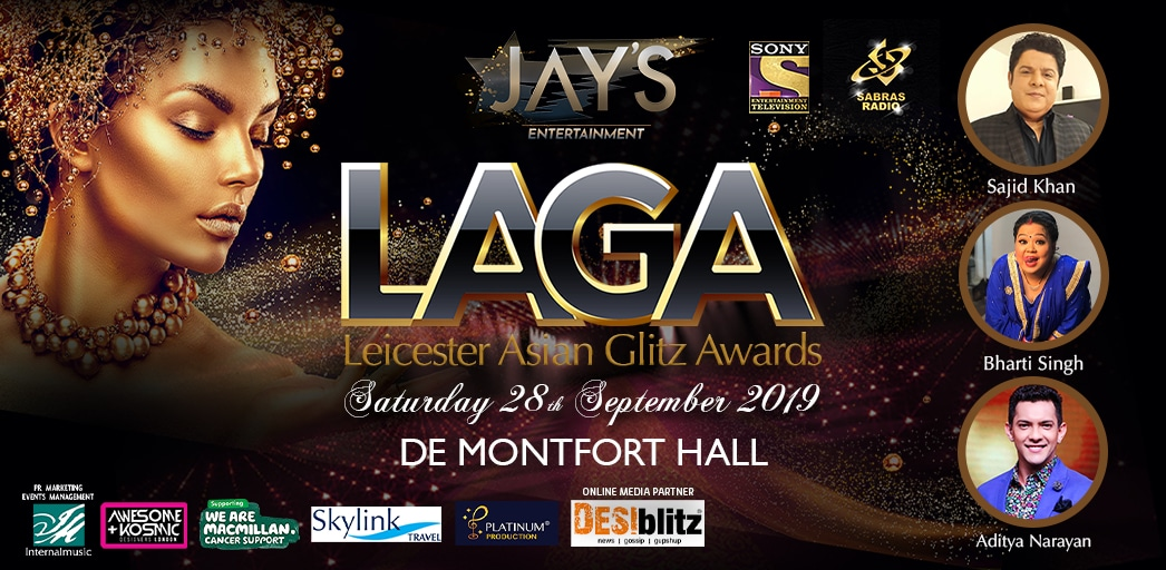 Win Tickets for the 2019 Leicester Asian Glitz Awards - IA 1