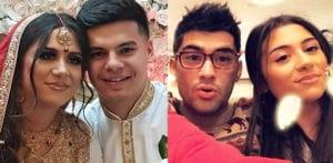 Zayn Malik's Sister Safaa aged 17 marries her Boyfriend f