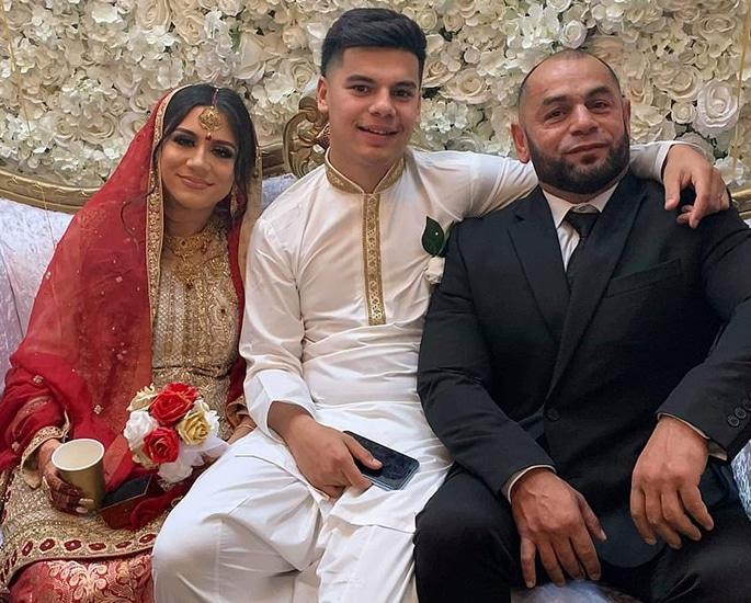 Zayn Malik's Sister Safaa aged 17 marries her Boyfriend - fil
