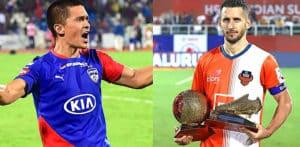 10 squadre della Indian Super League per la stagione 2019-2020 F