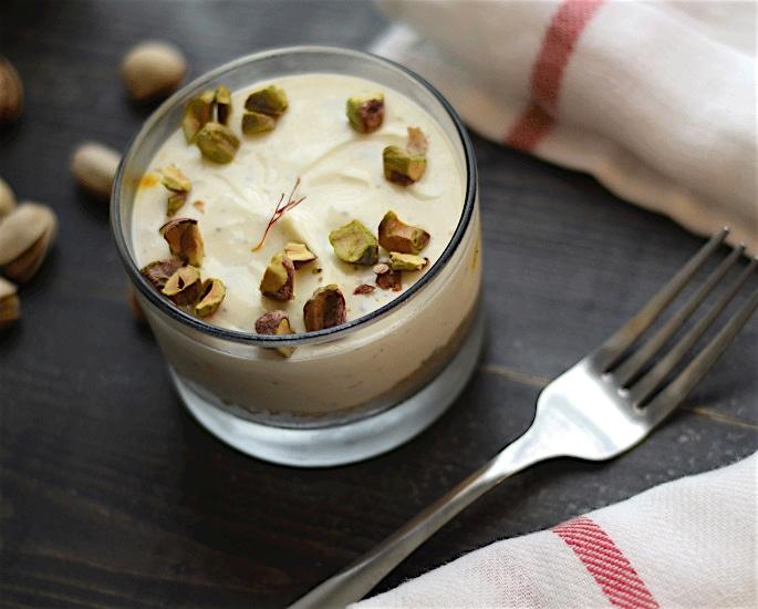 5 Desi Cheesecake Recipes to Enjoy - pistachio and saffron