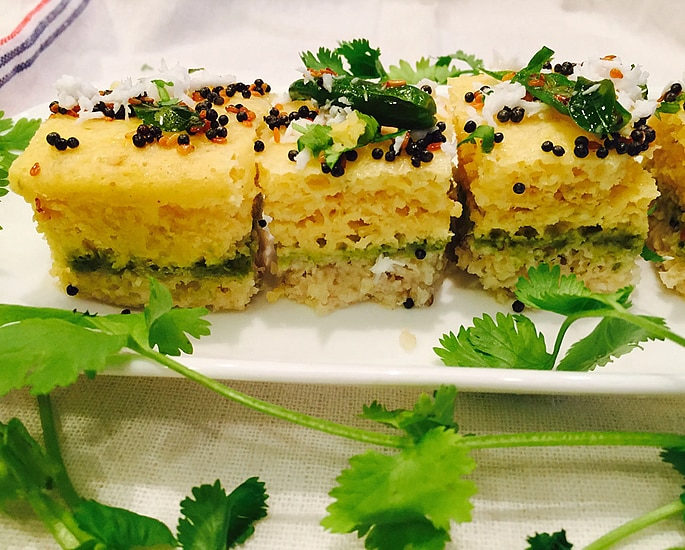 7 Delicious Types of Dhokla to Make at Home - sandwich