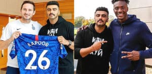 Arjun Kapoor feels 'surreal' being Chelsea FC Ambassador f