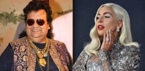Bappi Lahiri records Two Songs with Lady Gaga f