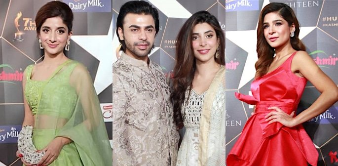 Best Dressed Pakistani Stars at Hum Awards 2019 f-2