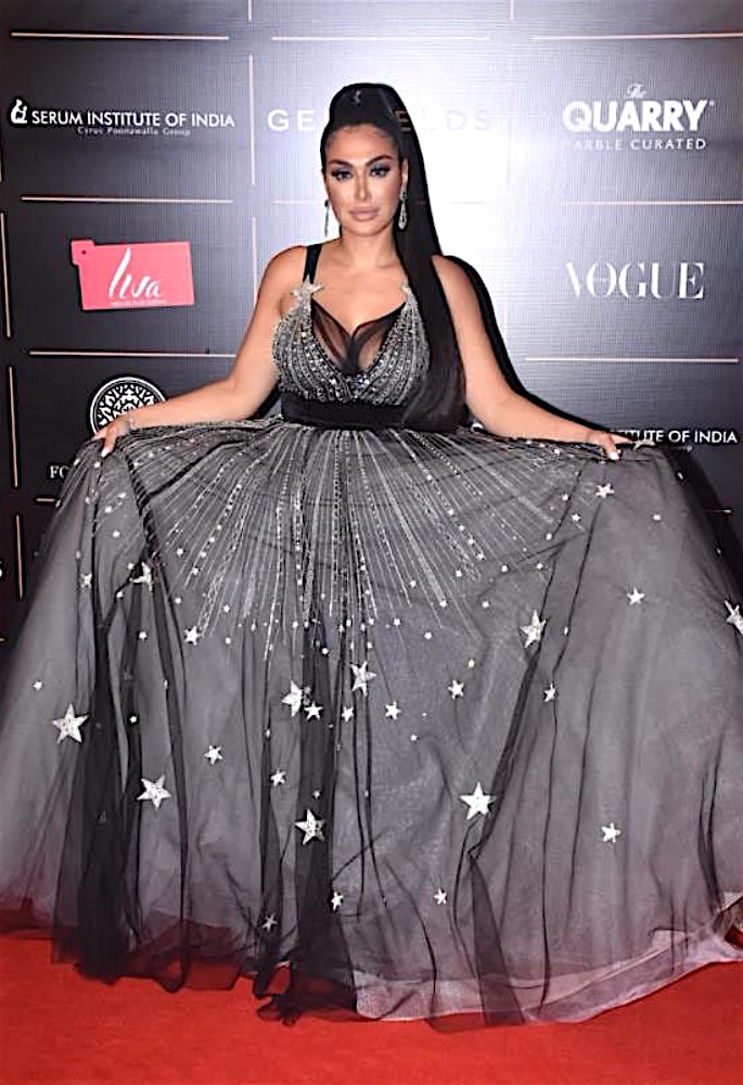 Best Dressed Stars at Vogue Women Of The Year 2019 - huda