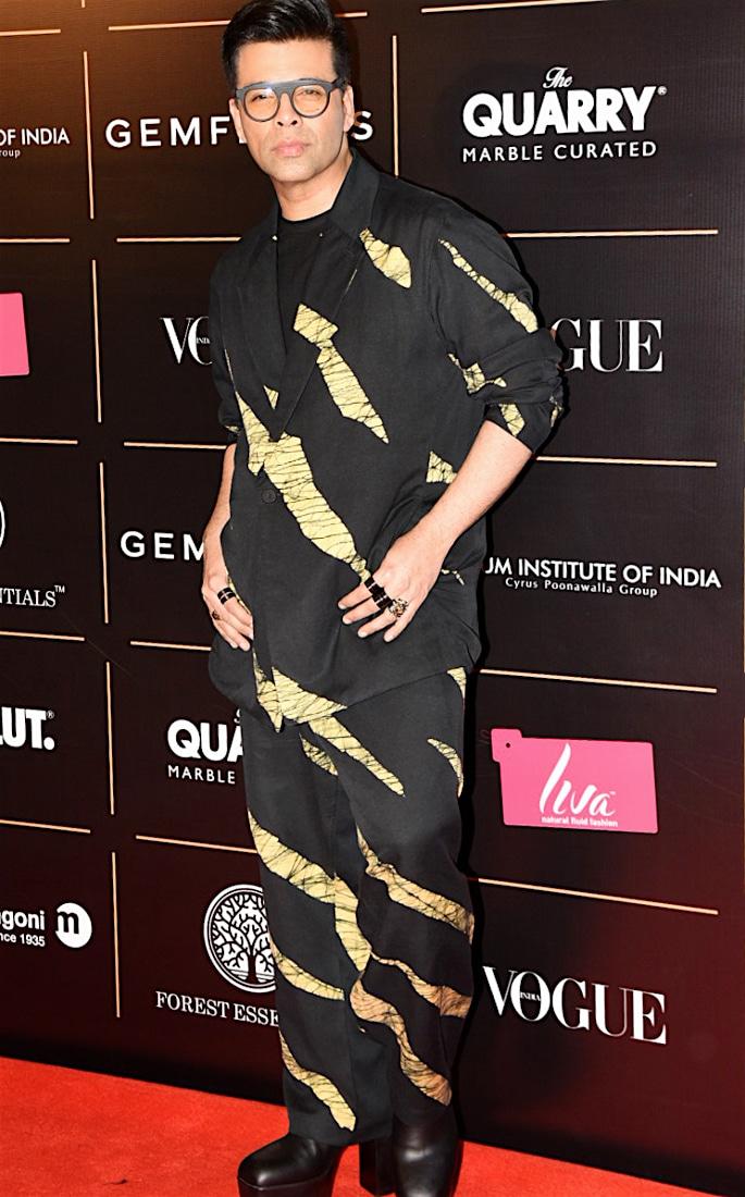 Best Dressed Stars at Vogue Women Of The Year 2019 - karan johar