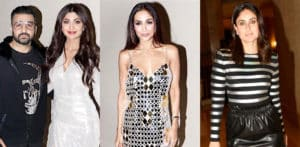 Bollywood Stars celebrate Malaika Arora's Birthday in Style f