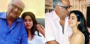 Boney Kapoor and Daughter Janhvi to Work Together f