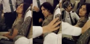British Pakistani Woman creates Ruckus on PIA Flight f