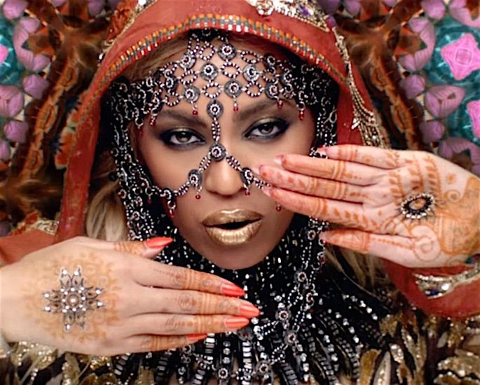 Cultural Appropriation of South Asian Fashion - beyonce