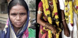 Daughter's Love Marriage forces Indian Mother to Feed Village