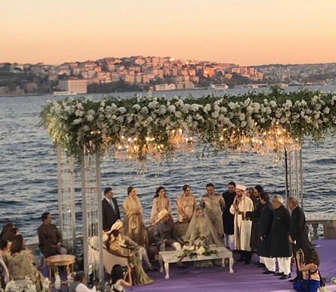 Fashionista Pernia Qureshi has a Lavish Turkey Wedding - ceremony