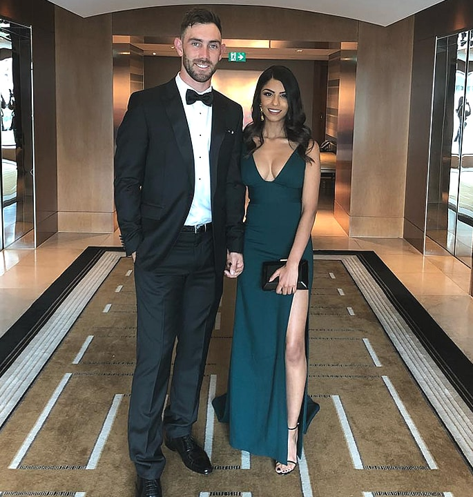 Glenn Maxwell's Indian Girlfriend shows Love for Cricketer 3