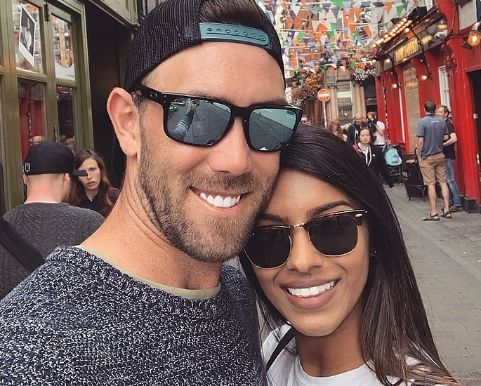 Glenn Maxwell's Indian Girlfriend shows Love for Cricketer