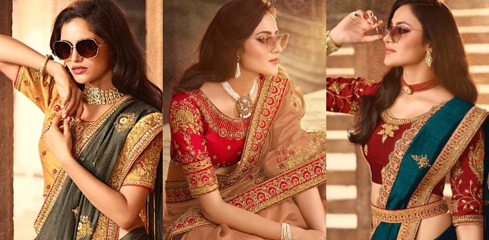 Heavy Silk Sarees for an Elegant and Stylish Look f