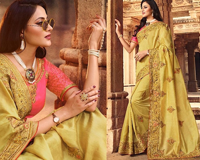 Heavy Silk Sarees for an Elegant and Stylish Look - light green