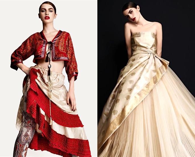 In che modo Desi Fashion ha influenzato l'abbigliamento occidentale? - vestito