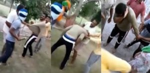Indian Man beaten in Public by Girl's Family for Harassing Her f