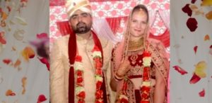 Indian Man marries Austrian Girl who He met in Goa f