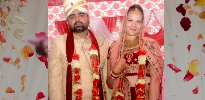 Indian Man marries Austrian Girl who He met in Goa f