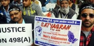 Indian Men demand a Men's Commission to Stop Fake Accusations f
