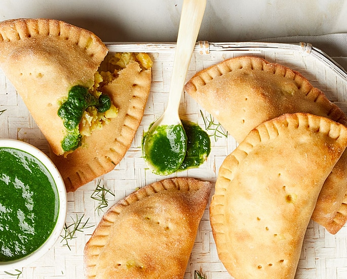 Indian-Style Pasty Recipes to Make at Home - curried potato