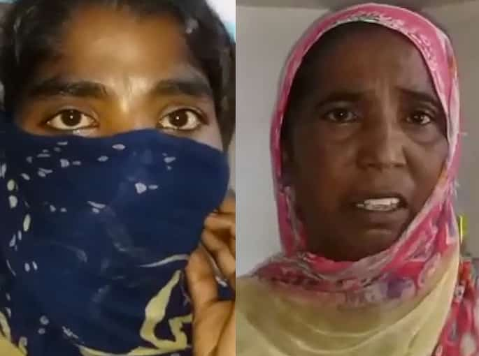 Indian Wife beaten by In-Laws for Not doing Wrong Things - mum and daughter